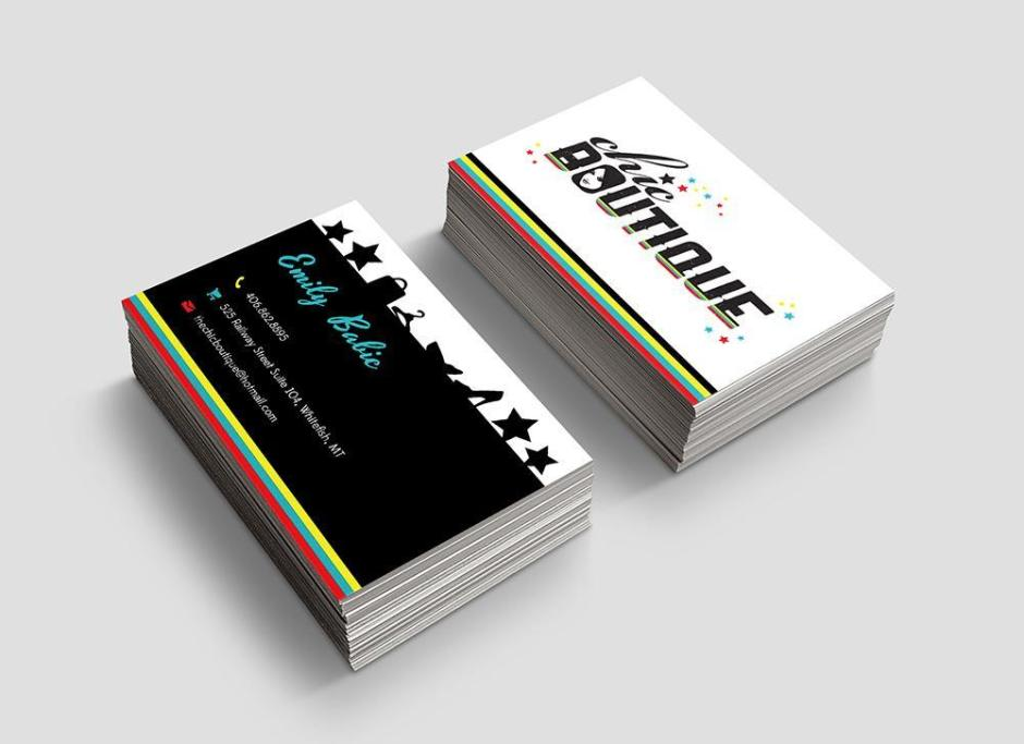 ChicBoutique Business Cards