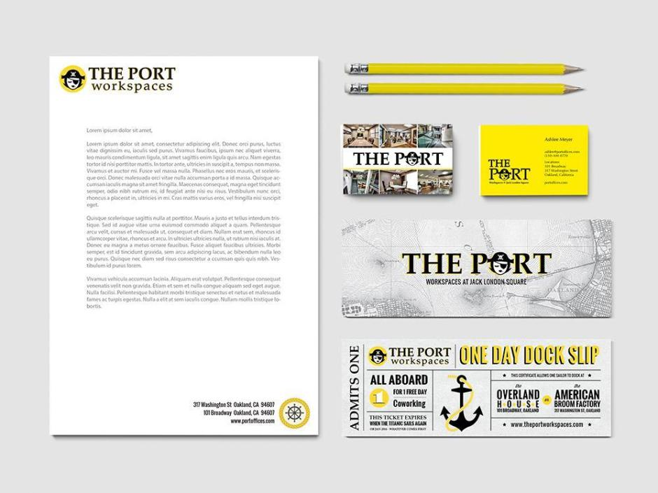 Port Office Branding & Identity
