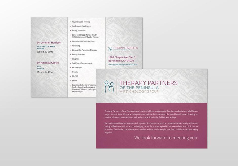 TPOP postcard design