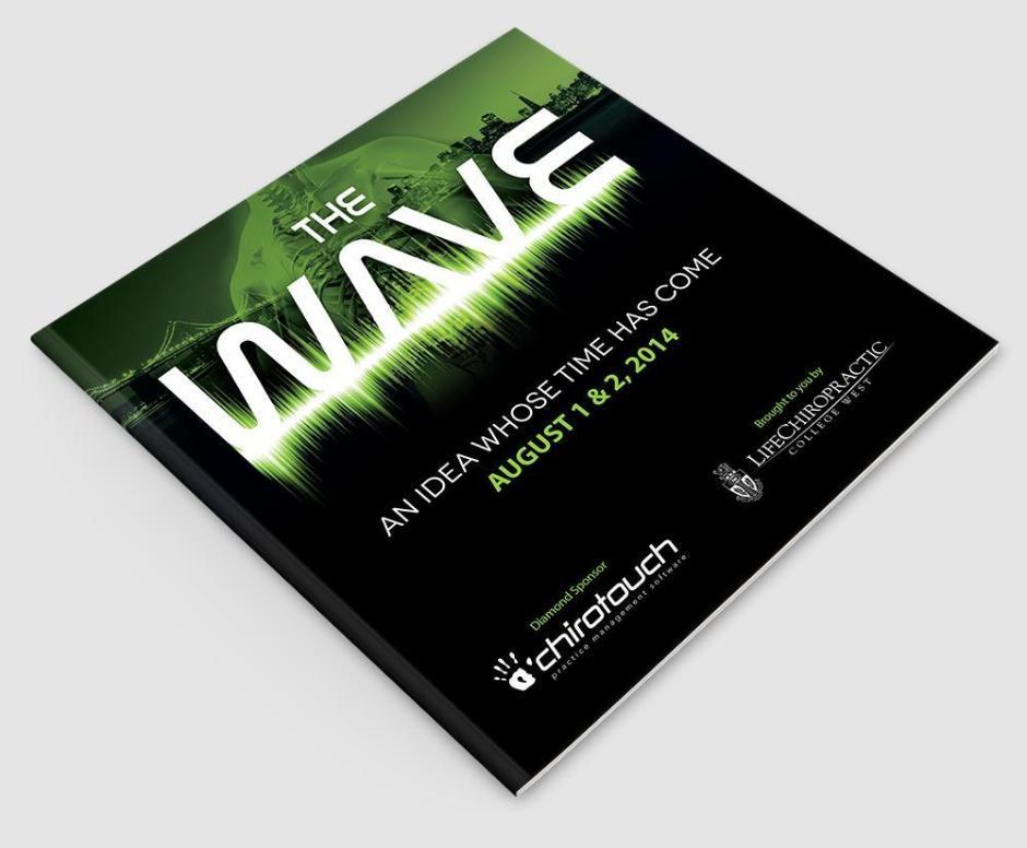 Wave Program Book Design