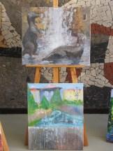 górna praca -Klaudia Lewkowicz,na dole praca Wiktorii Garleja