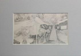 10 Relief ,pastel, papier.'' Wąskie gardło obfitości'' 18cm x 27cm. 2000