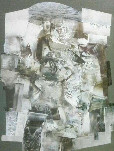 33 Olej płyta -Przestrzeń osobista przetoki - 41cm 31cm 2012