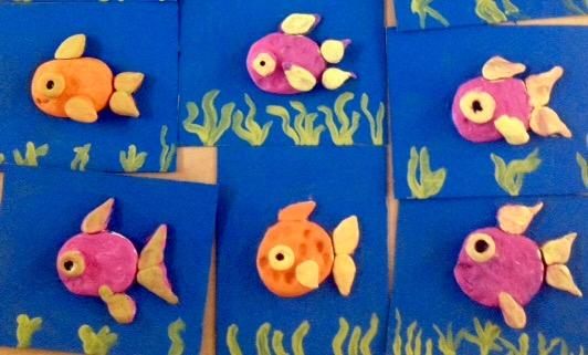 Fish Sculptures