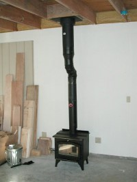 Stove Chimney: Install Stove Chimney Pipe