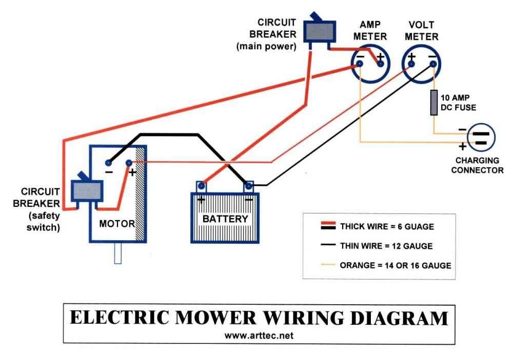 medium resolution of solar mower electrical wiringwire diagram for amp meter 17