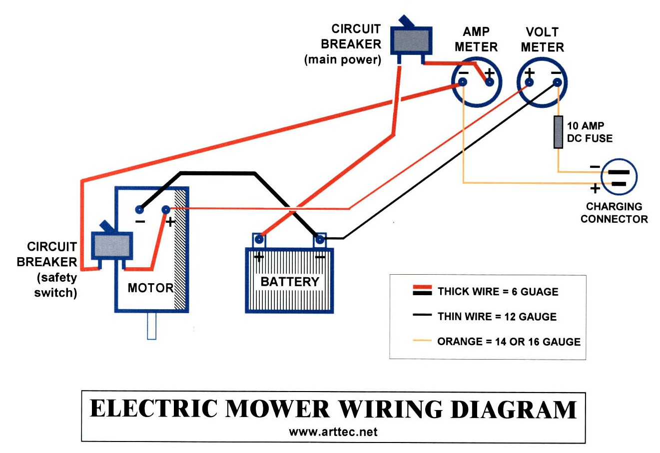 hight resolution of solar mower electrical wiringwire diagram for amp meter 17