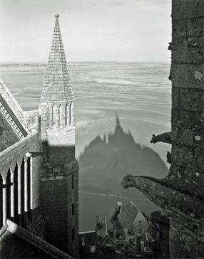 Mont St. Michel, Gelatin silver print, 1997, William Clift.