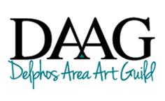delphos area art guild logo