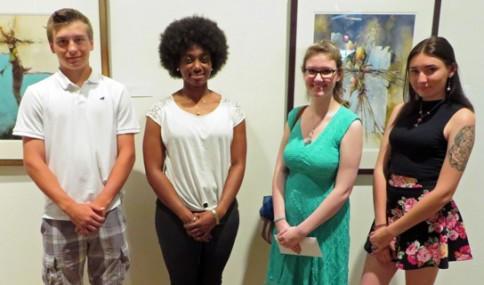 PREFACES 2014 winners shown are (l-r) Jordan Allen, Tia Nichols, Rebekah Nettleton and Siobhan Irvin.