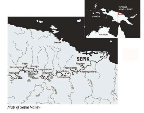 A - Map of Sepik Valley