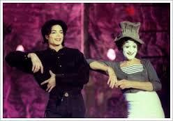 Marcel Marceau & Michael Jackson