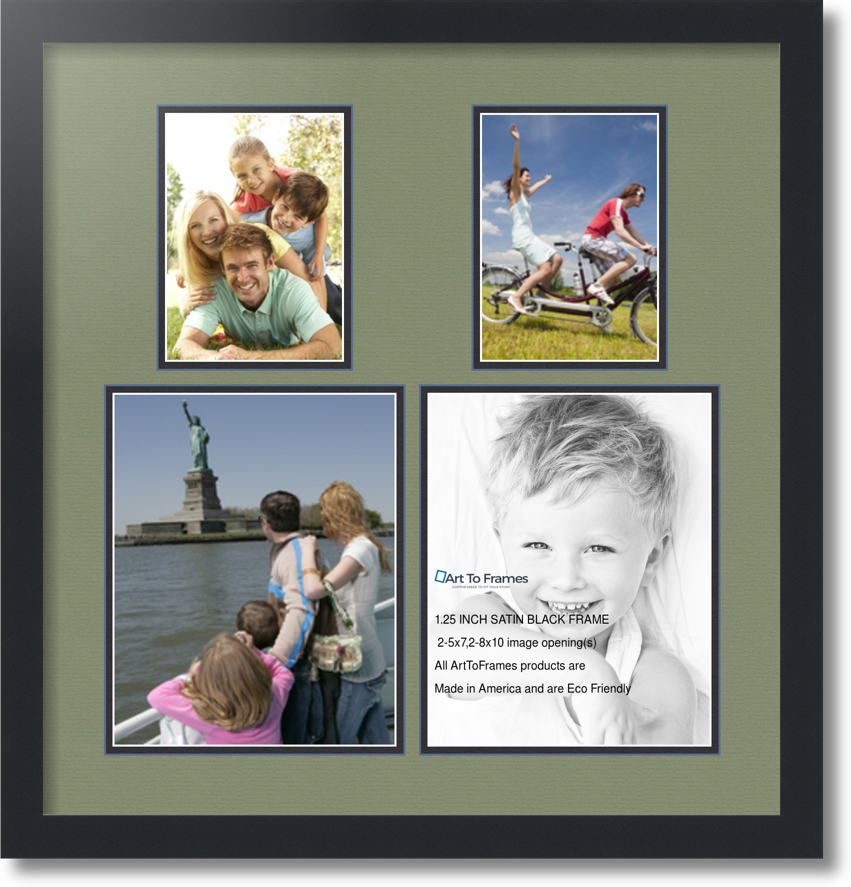 2 Opening 8x10 Collage Frame