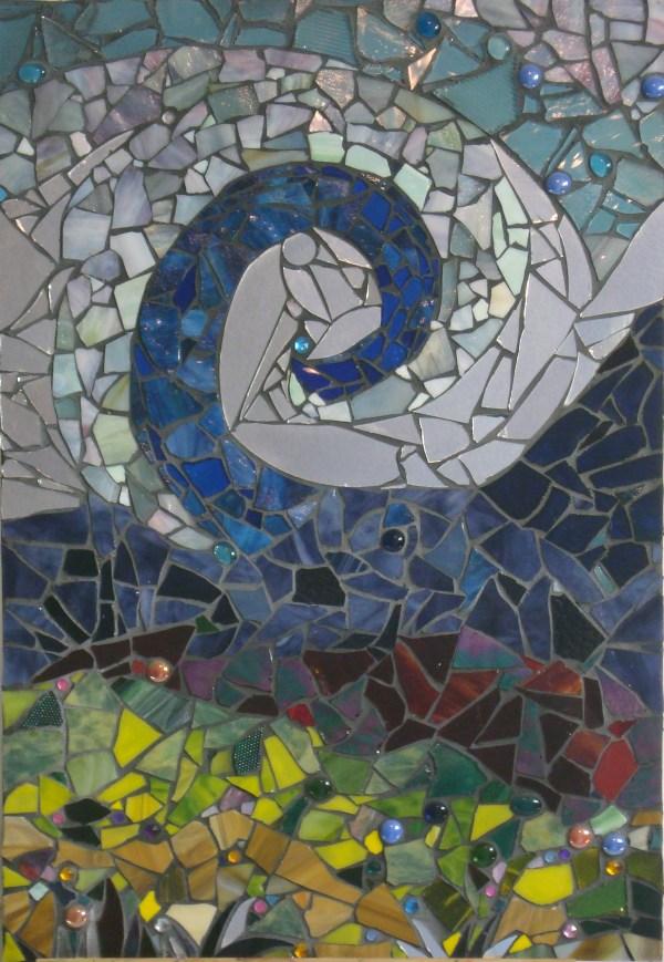 Winter' Coming - Glass & Mirror Mosaic