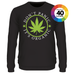 Don' panic it's organic shirt ontwerpen