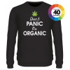 Don't panic it's organic shirt design 2 ontwerpen