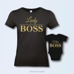 Lady Boss & Mini Boss moeder en dochter set