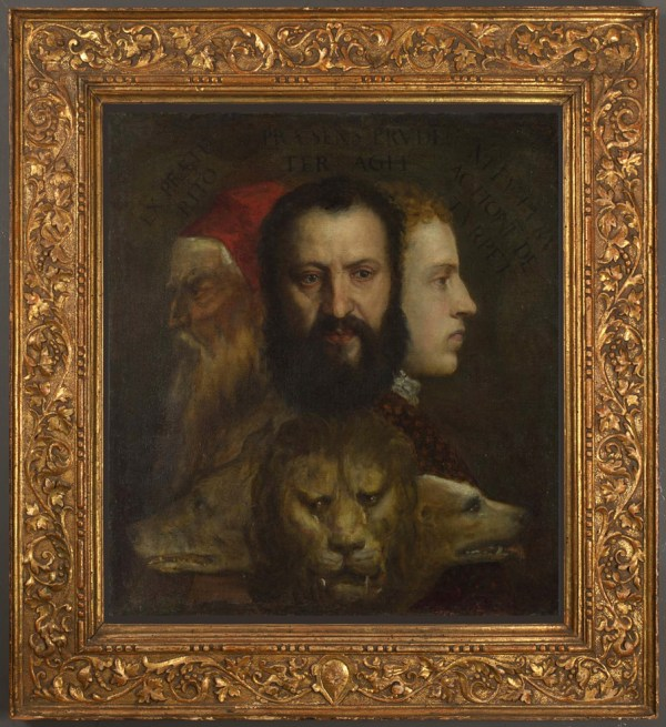 Framing Titian' Allegory Of Prudence Appeal