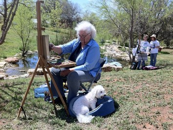 You've got to love plein air painting