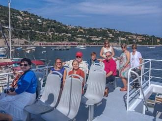 Boat trip around Cap-Ferrat