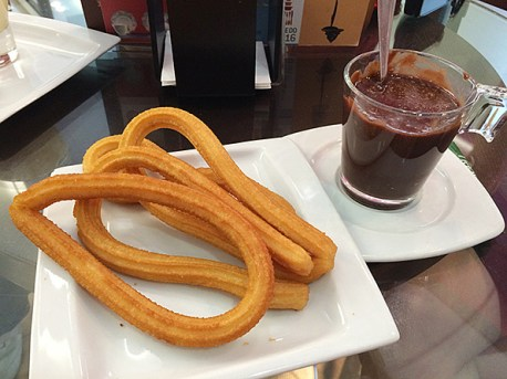 Churros & chocolate