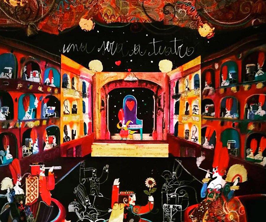 Una sera a teatro - Stefano Mancini