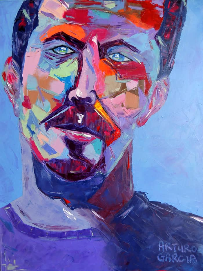 """Slowhand. Oil painting 30""""X24"""""""