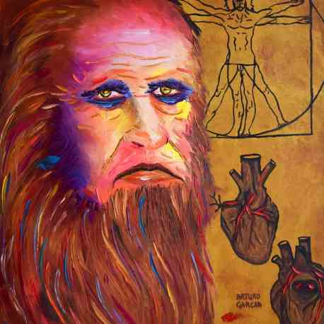 """""""The Heart of Man."""" Oil. 30""""X24"""". Original Available."""