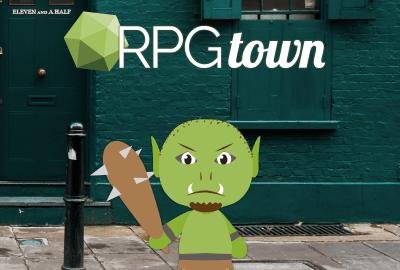 RPGtown Logo & Ogre