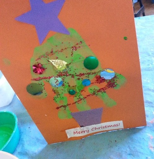 There Is Nothing Lovelier Than A Home Made Christmas Cardand Even Cuter If Its Got Little Persons Hand Or Footprint On It Heres Round Up Of