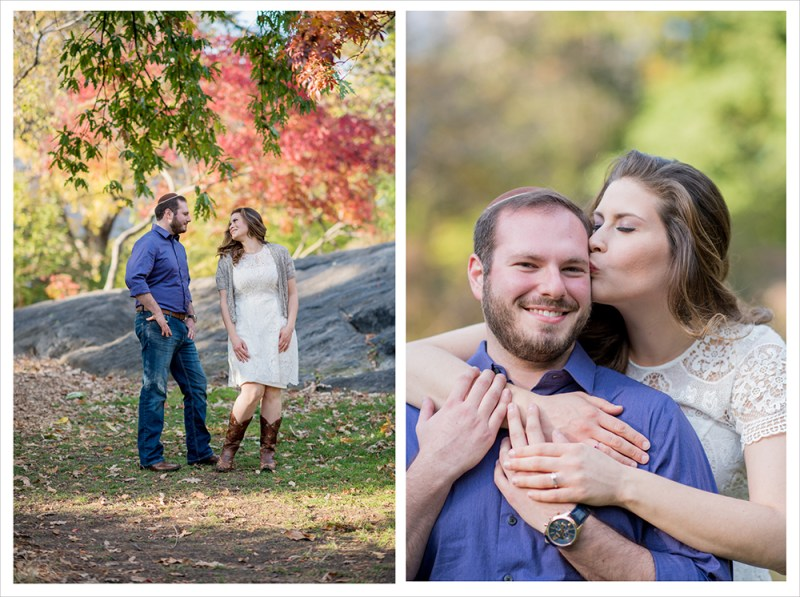 Miriam & Adam's Engagement session in Central Park, NYC