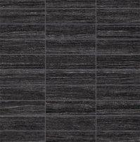 "Happy Floors - E-Stone Tile Mosaic 1.25"" x 4"" - Black"