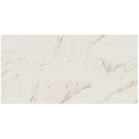 classentino marble tile 24 x 48 palazzo white polished