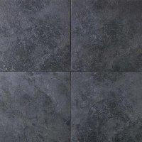 "Daltile - Continental Slate Tile 18"" x 18"" - Asian Black"