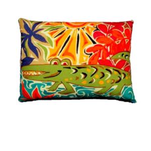 Alligator-Indoor-Outdoor-Pillow