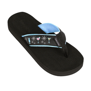 Cocktail Flip Flops by Tidewater
