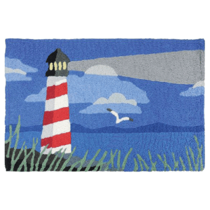 Guiding Light Lighthouse Jellybean Rug
