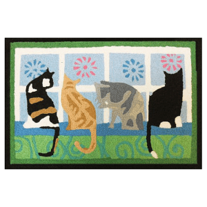Kitties in the Window Jellybean Rug