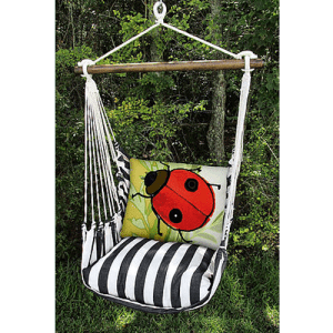 Lady-Bug-Rope-Swing-Chair