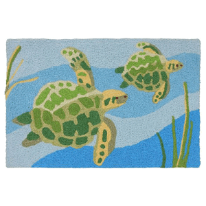 Sea Turtles Jellybean Rug