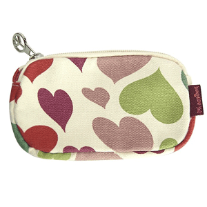 Hearts Bungalow 360 Clutch Coin Purse