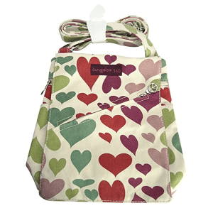 Hearts Bungalow 360 Small Messenger Bag