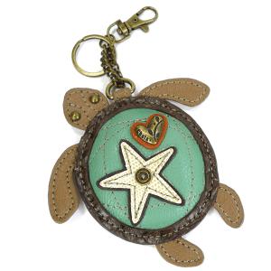 Sea Turtle Keychain Coin Purse