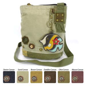 Tropical Fish Crossbody Bag