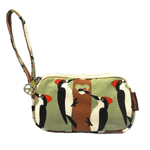 Woodpecker Bungalow 360 Clutch Coin Purse
