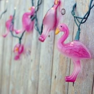 Flamingo String Lights