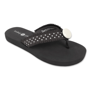 Lindsay Phillips Lulu Black Flip Flops