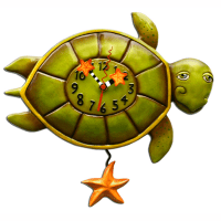 Shelldon Turtle Clock - ArtWare Designs