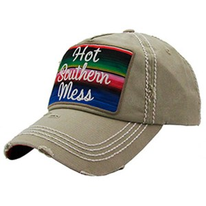 Hot Southern Mess Patchwork Hat