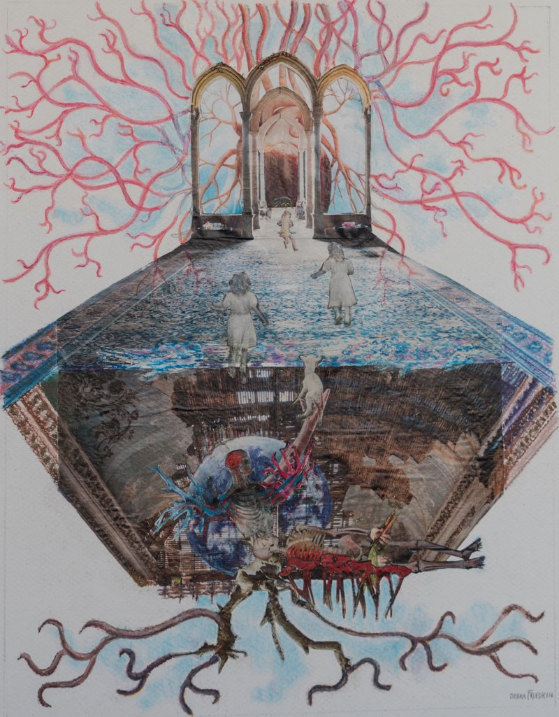 "Exhibition ""rites Of Passage Spiritual Collage"" Artist"